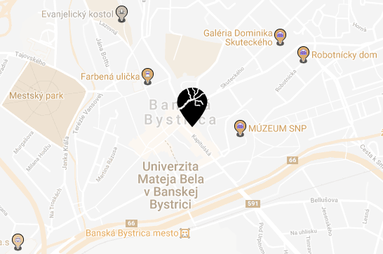 map gran hostel kapitulska