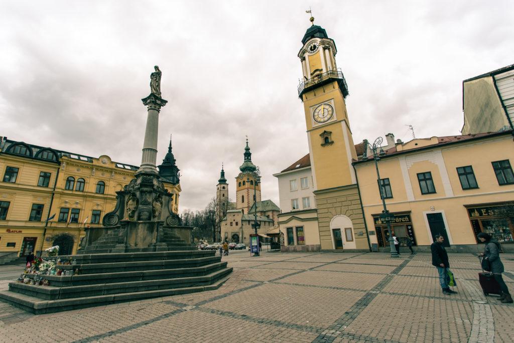 main square banska bystrica