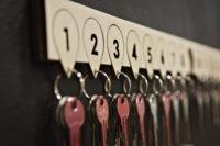 gran hostel reception key holder