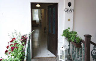 gran hostel entrance door